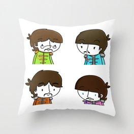 Sgt Pepper Throw Pillow