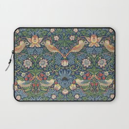 Strawberry Thief - Vintage William Morris Bird Pattern Laptop Sleeve