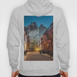 Twilight Hour - West Village, New York City Hoody