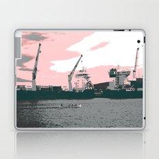 harbor rowing Laptop & iPad Skin