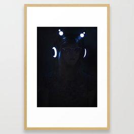 Blvck Framed Art Print