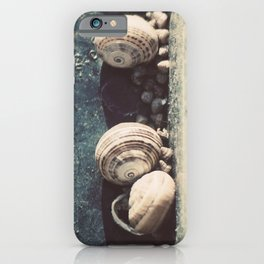 Snail family iPhone Case