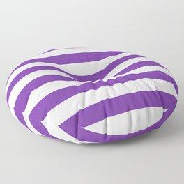 Purple Stripes Floor Pillow