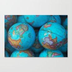 Globes Canvas Print