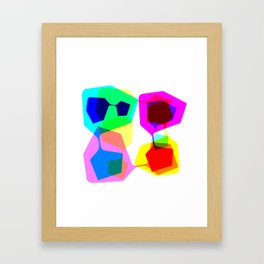 Techno Dude Framed Art Print