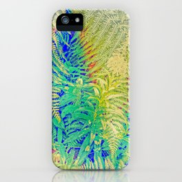 Fern and Fireweed 01 iPhone Case