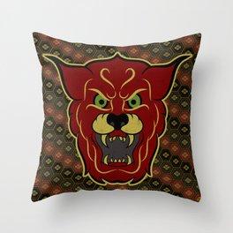 Shisa Throw Pillow