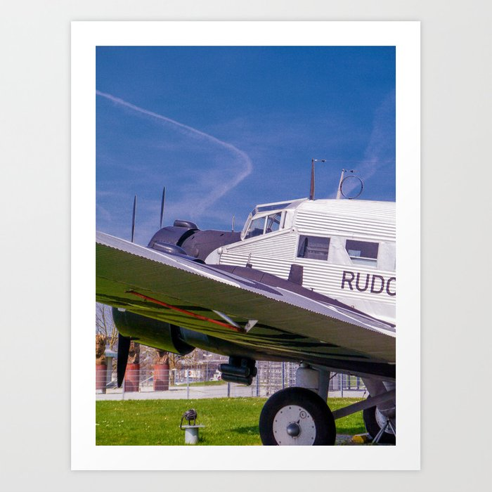 JU - 52 Art Print