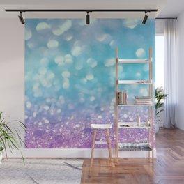 Summer Mermaid Girls Glitter #2 #shiny #decor #art #society6 Wall Mural