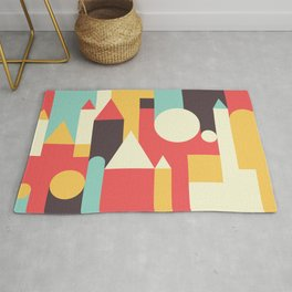 Abstract Pattern Background Rug