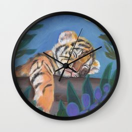 What Does the Tiger Dream? Wall Clock