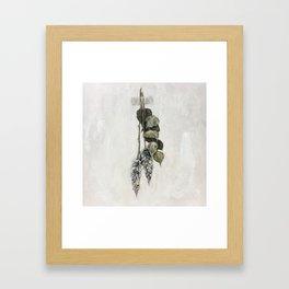 Lavender Harvest Framed Art Print