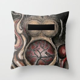 The late bird gets the $&@% Throw Pillow