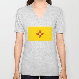 Flag of New Mexico Unisex V-Neck