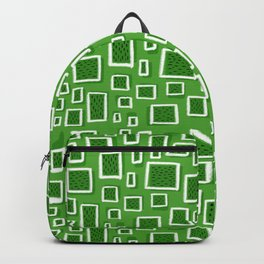 greeny square Backpack