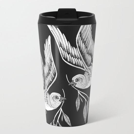 Miuotti Birds Metal Travel Mug
