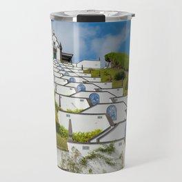 Chapel in Azores islands Travel Mug