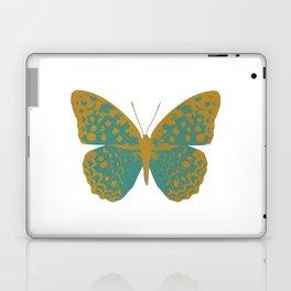 Teal Butterfly Laptop & iPad Skin