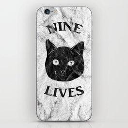 Nine Lives iPhone Skin