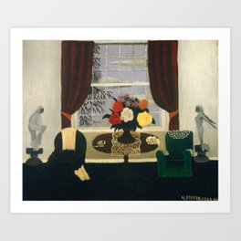 Victorian Interior I by Horace Pippin, 1945 Art Print
