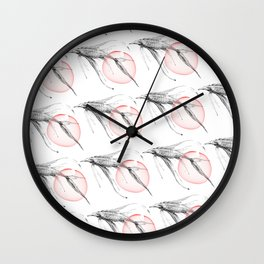fish and caviar Wall Clock