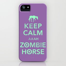 This just happened. iPhone Case