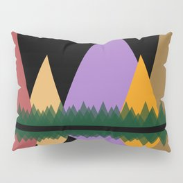 Moon Over The Mountains #1 Pillow Sham