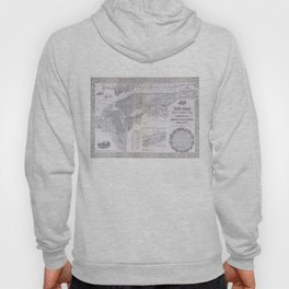 Vintage Map of New York City (1855) Hoody