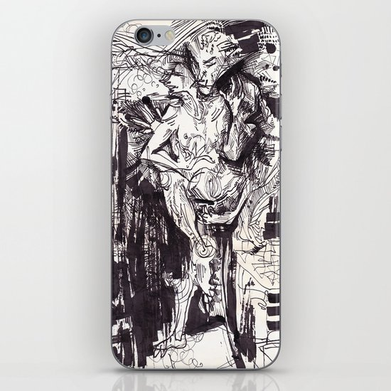 Him & She iPhone & iPod Skin
