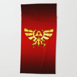 Link Zelda Beach Towel