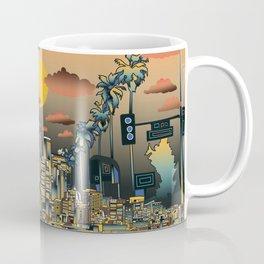 los angeles city skyline Coffee Mug