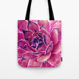 Suculenta Violeta Tote Bag