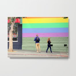 Just One Look Metal Print