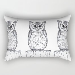 Waiting owl Rectangular Pillow