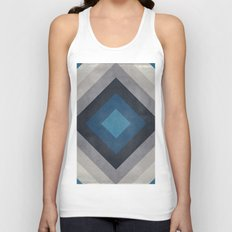 Greece Hues Tunnel Unisex Tank Top