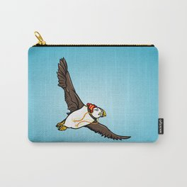 Puffin Wearing A Hat Carry-All Pouch
