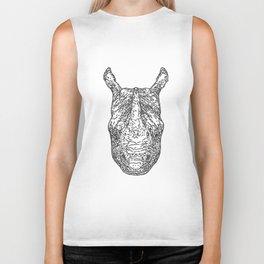 rhinoceros Biker Tank