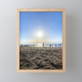 Silence in French Riviera Framed Mini Art Print