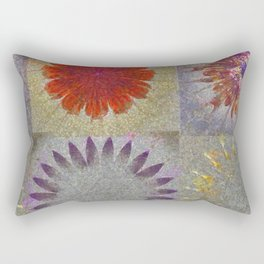 Uncaptivate Stripped Flower  ID:16165-034048-23510 Rectangular Pillow