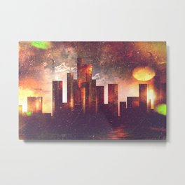 Good night Manhattan Metal Print