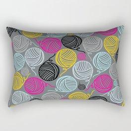 Yarn Yarn Yarn Yarn Yarn Rectangular Pillow
