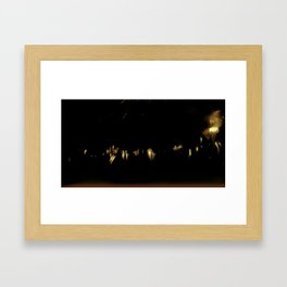 Lost in Some City No. 15 Framed Art Print