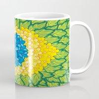 brasil Mugs featuring Brasil Estampa by Henrique Abreu
