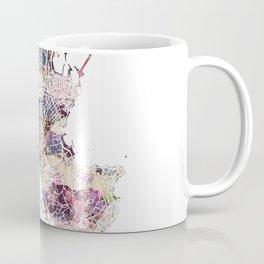 Antibes map Coffee Mug