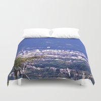 colombia Duvet Covers featuring The Santanderes, Colombia. by Alejandra Triana Muñoz (Alejandra Sweet