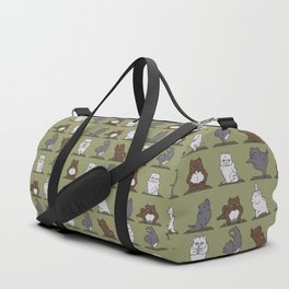The American Bully Yoga Duffle Bag