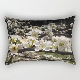 Apple Blossoms Rectangular Pillow