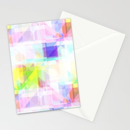 Geometric Splash Stationery Cards