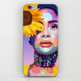 Kehlani iPhone Skin