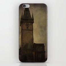 Tower in Prague iPhone & iPod Skin